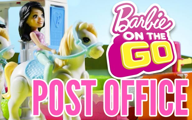 Barbie On the Go Post Office Delivers Fun