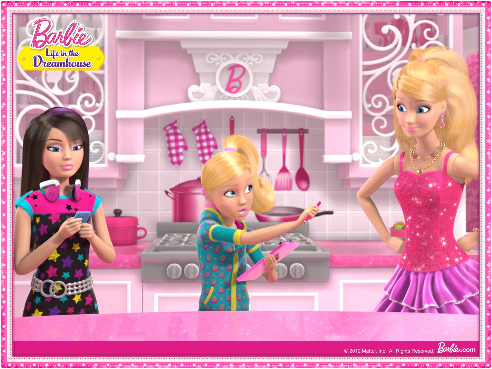 キュートポップ バービー人形 Barbie Pcデスクトップ壁紙