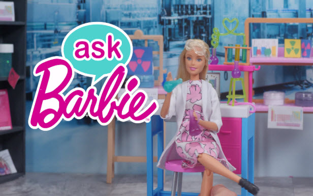 Ask Barbie About Science Experiments!