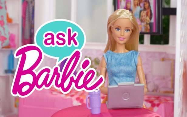 Ask Barbie About Magic!