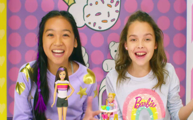 Barbie Babysitters Commercial