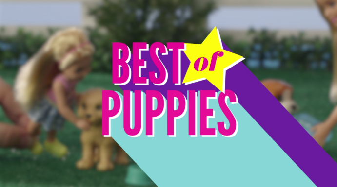 Best of Barbie: Puppies!