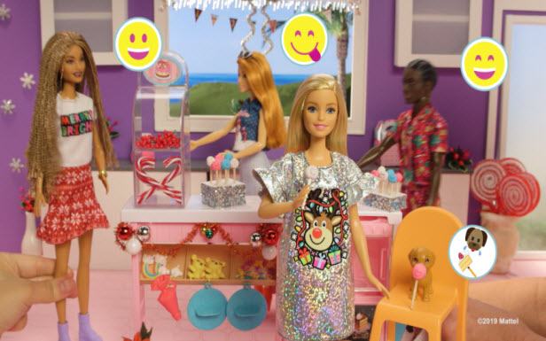 Barbie® Cake Decorating & Sweater Party at the Dreamhouse
