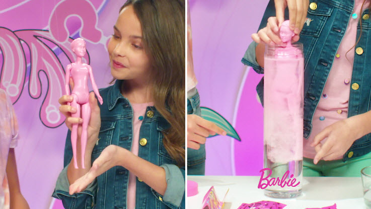 Barbie® Color Reveal™ Doll Advertising