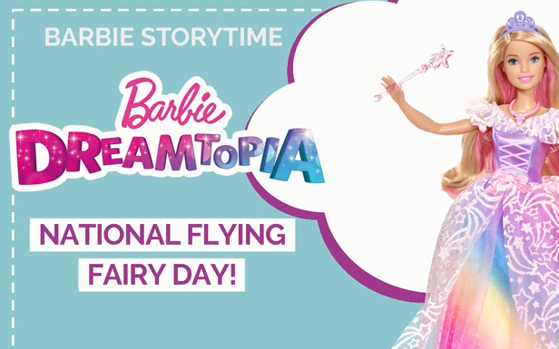 National Fairy Flying Day in Dreamtopia