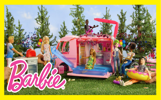 Summer Fireworks Party with the Barbie® DreamCamper®