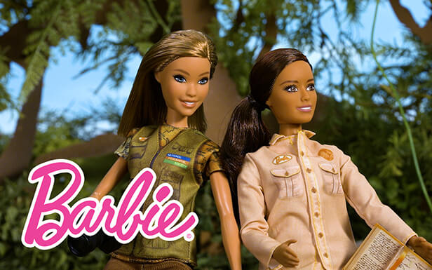 Forest Photoshoot Surprise with Barbie® National Geographic Dolls