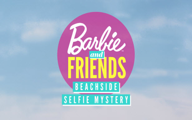 Barbie® Doll Beachside Selfie Mystery
