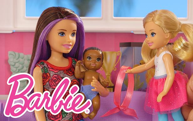 Ultimate Babysitting Hide & Seek with Skipper Doll | Barbie® & Friends