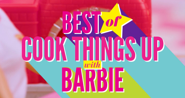 Cook Things Up with Barbie Doll
