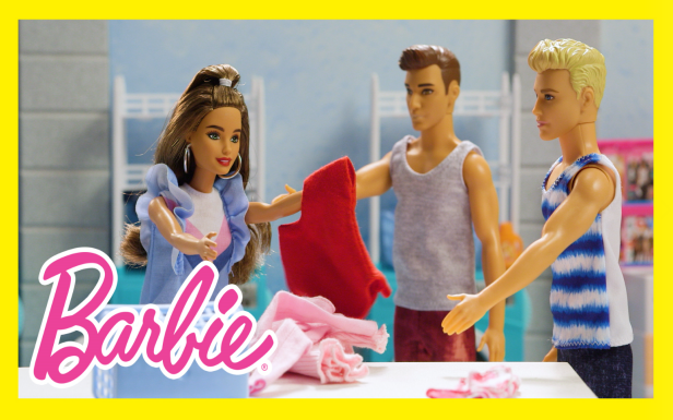 Laundry How-To with Barbie® and Ken® Dolls