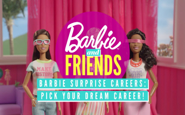 Barbie® Surprise Careers: Pick Your Dream Career!