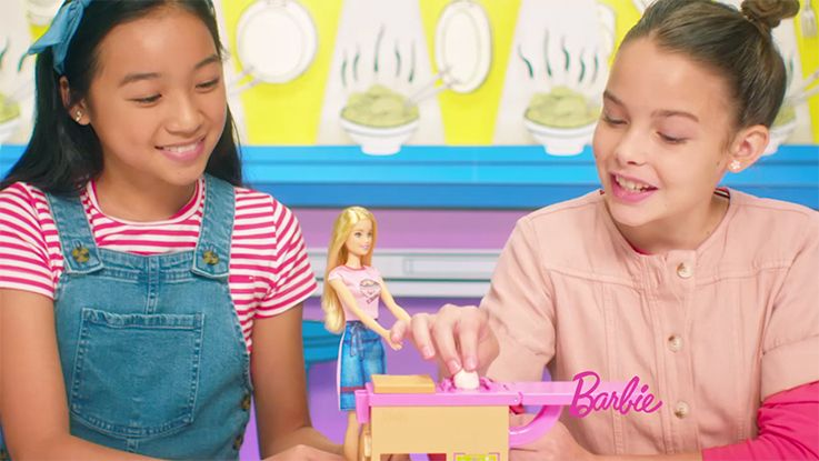 Barbie® Noodle Maker Commercial