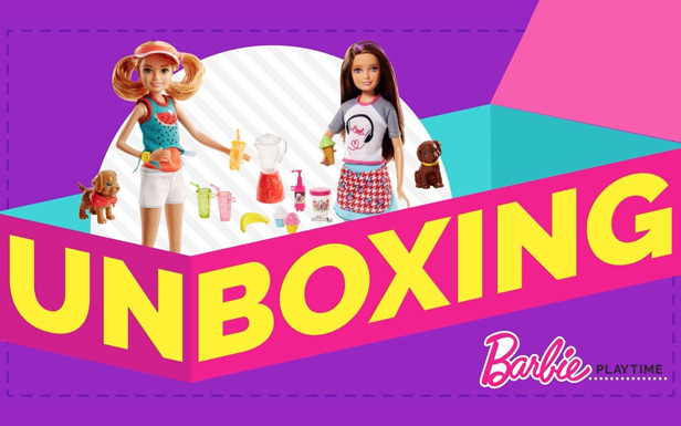 Unboxing Barbie Sisters Skipper and Stacie Doll Sets and Serving Up Fun