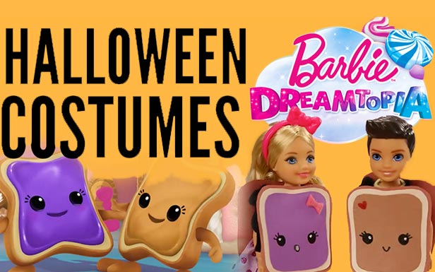 DIY Costumes – Peanut Butter & Jelly| Barbie Dreamtopia