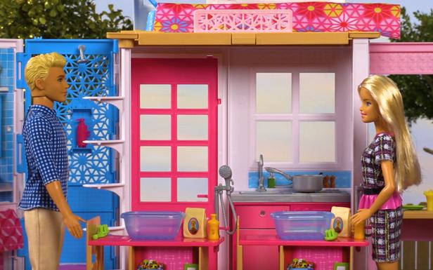 Barbie Celebrates Give Something Away Day