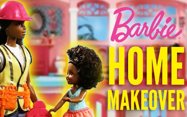 Home Renovations with Barbie Builder and Mega Bloks® | Barbie Careers