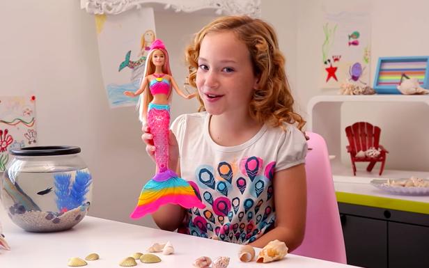 Resolutions with Barbie Rainbow Lights Mermaid Doll