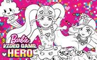 Download free and fun Barbie activities - coloring pages ...