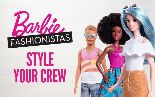 Barbie Fashionistas - Style Your Crew