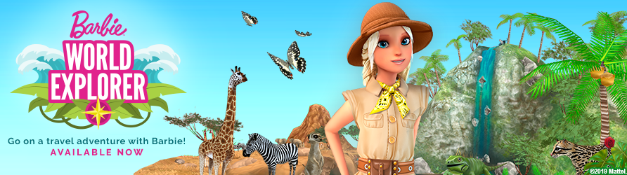 "Barbie<span class=""title-tm"">™</span> World  Explorer"