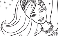 Printable : Pink Shoes Coloring Page 1