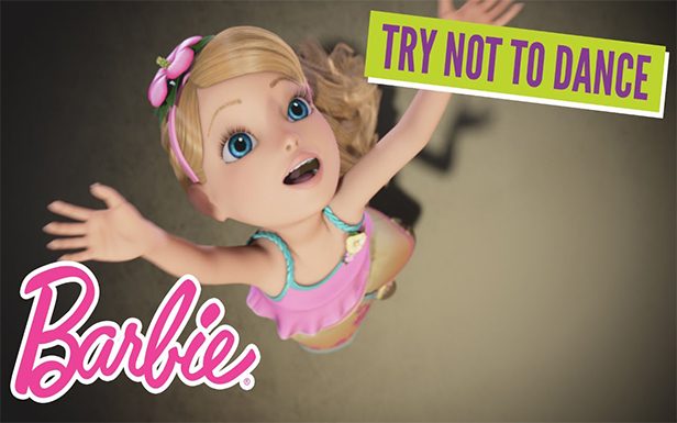 Try Not to Dance Challenge with Barbie®