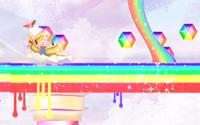 Montaña rusa del Reino del arcoíris mágico