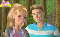 Fondo de pantalla: Foto perfecta de Barbie y Ken