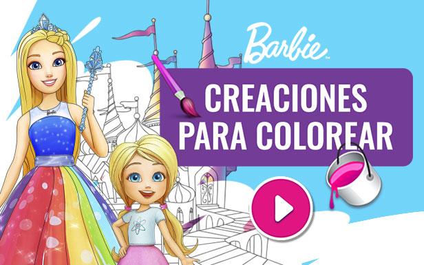 Juego : Creaciones Para Colorear