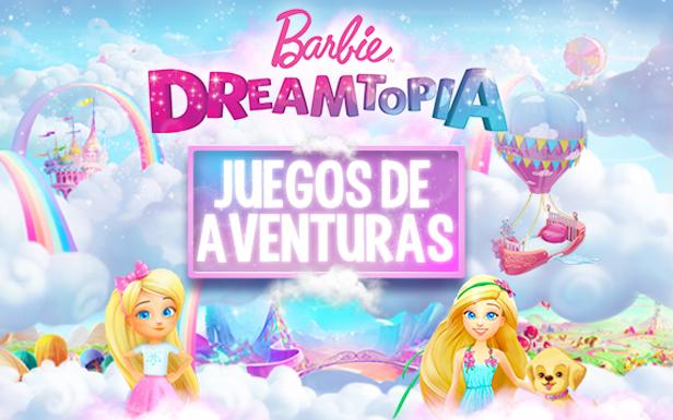 Juegos de aventuras Barbie Dreamtopia