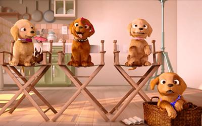 Barbie y sus hermanas en una gran aventura de perritos  Detrás de cámaras
