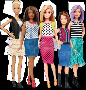 Resultado de imagen de barbie fashionistas 2018