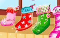 Calcetines navideños de las hermanas
