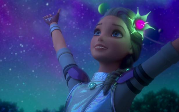 Clip vidéo  «Étoile filante»