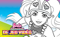 à Imprimer Coloriages Barbie Apprentie Princesse
