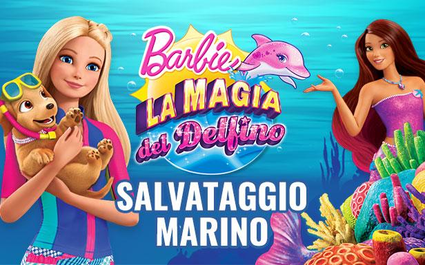 Magia del Delfino Salvataggio Marino