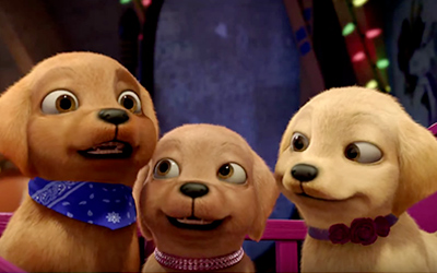Barbie e il Tesoro dei Cuccioli : Trailer