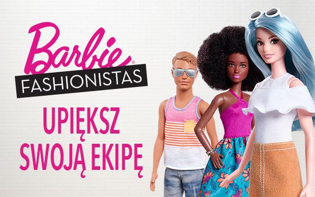 Gra : Barbie Fashionistas — Upiększ swoją ekipę