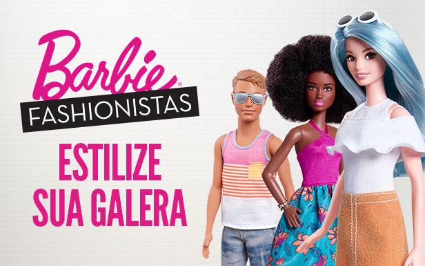 Barbie Fashionistas Estilize sua galera