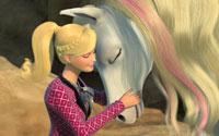 """Videoclipe do filme """"Barbie e Suas Irmãs em uma Aventura de Cavalos"""""""