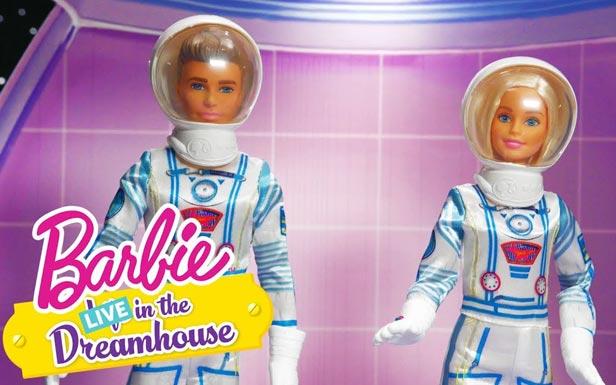 Барби-астронавт