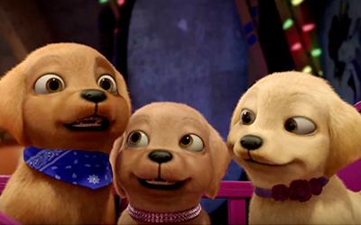 Барби и щенки в поисках сокровищ : Ролик-анонс
