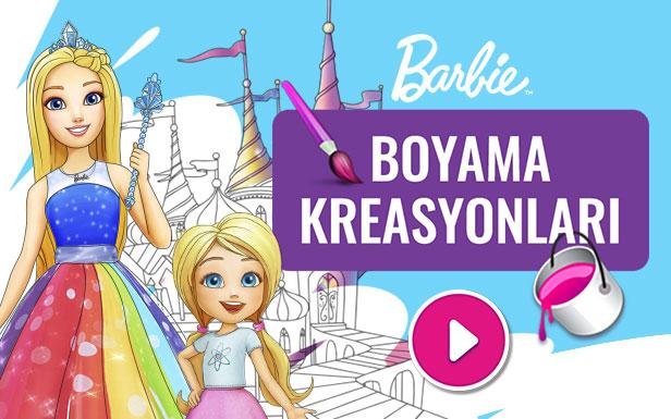 Ucretsiz Indirilebilen Eglenceli Barbie Aktiviteleri Boyama