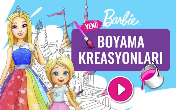 Boyama Kreasyonlari Barbie