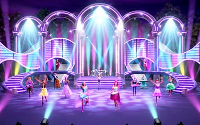 """Prenses ve Rock Star : Sesini Yükselt"""" Müzik Videosu"""