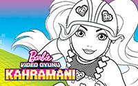 ücretsiz Indirilebilen Eğlenceli Barbie Aktiviteleri Boyama