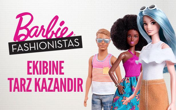 Oyun : Barbie Fashionistas Ekibine Tarz Kazandır